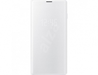 SAMSUNG - Etui EF-NG973PW LED View cover Blanc G S10