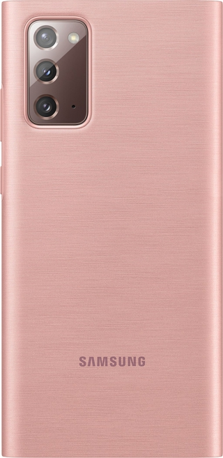 SAMSUNG - Etui EF-ZN980CA Clear viewcover Bronz Note20