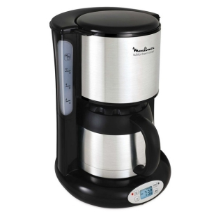 MOULINEX FT362811 CAFETIERE SUBITO ISOTHERME PRO GRAMMABLE INOX 8/12 TASSES