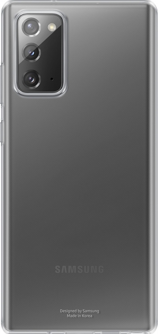 SAMSUNG - Coque smartphone EF-QN980TT Clear Cover Transp Note20